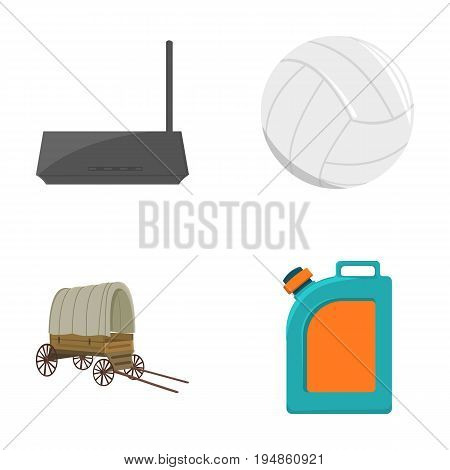 sport, travel, trip and other  icon in cartoon style. liquid, oil, gasoline, icons in set collection.