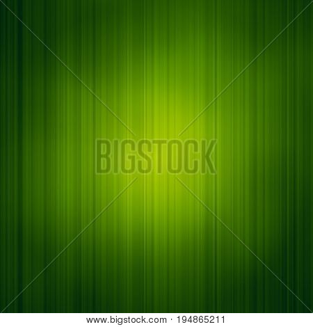 Abstract background with bright green grass texture. Spot light in the Center. The theme of health and the environment.