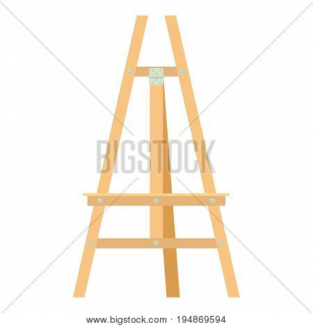 Easel icon. Cartoon illustration of easel vector icon for web isolated on white background