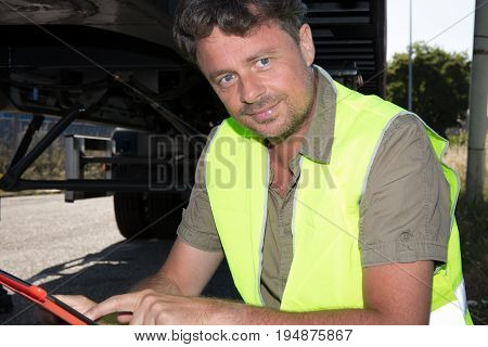 Engineer Control Loading On Container Freight Train