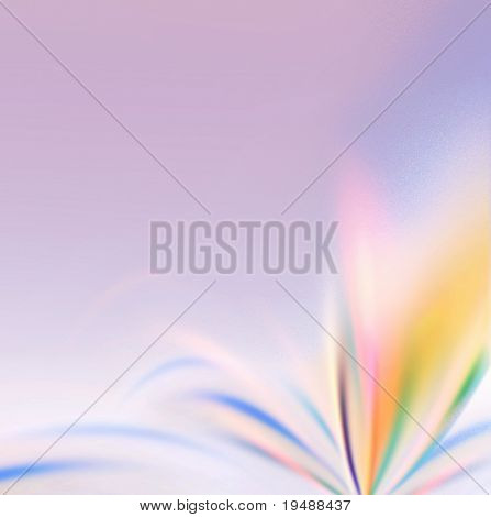 The gentle and beautiful colours of this background will decorate your design. Ideally for your use