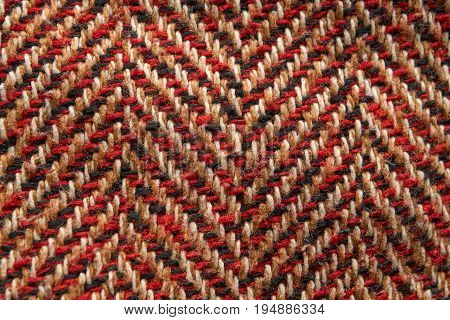 Closeup Pattern Of Wool Texture Material