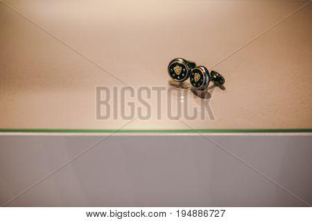 Groom's Cufflinks In A Box