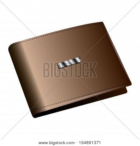 Isolated Leather Wallet