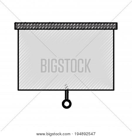 Window blind isolated icon vector illustration design
