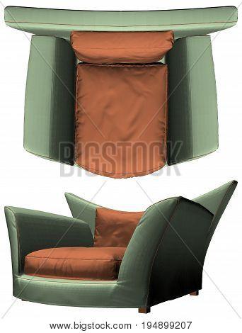 Modern Armchair Vector 33.eps