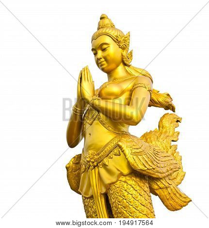 kinnaree is thai angel, a mythology figure