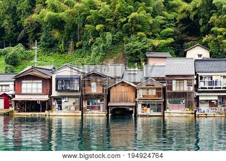 Ine town in Kyoto, Japan