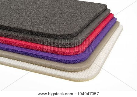 Polyethylene foam shockproof material multi colour closed up