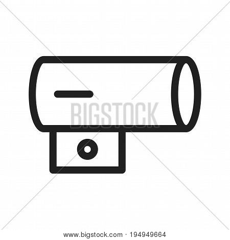Heater, air, portable icon vector image. Can also be used for Climatic Equipment. Suitable for use on web apps, mobile apps and print media.