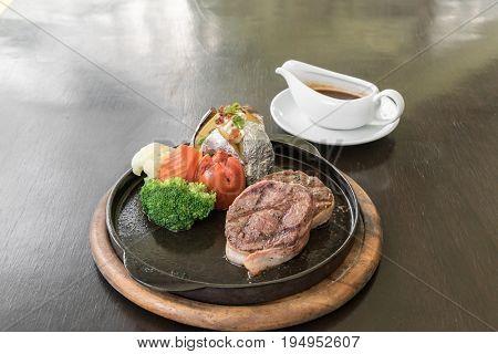 Filet Mignon Steak pepper steak