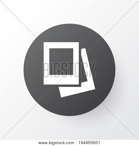 Gallery Icon Symbol. Premium Quality Isolated Album Element In Trendy Style.