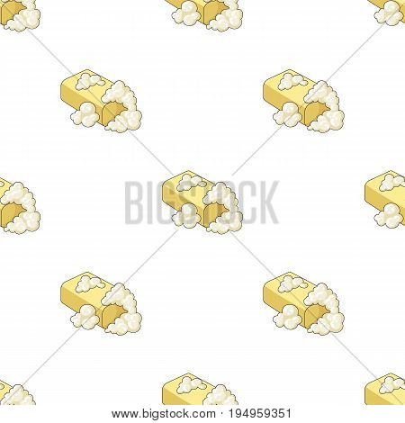 Washing soap. Dry cleaning single icon in cartoon style vector symbol stock illustration .