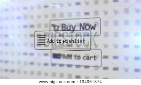 Electronic Commerce Concept.
