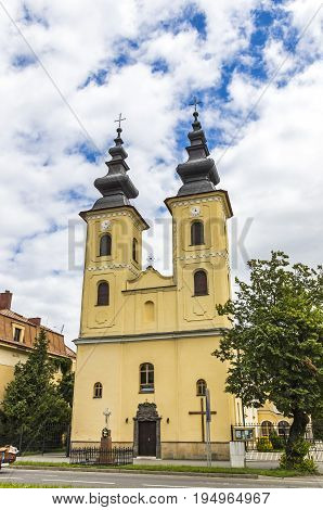 Church Of Nativity Of Mother Of God In Michalovce, Slovakia