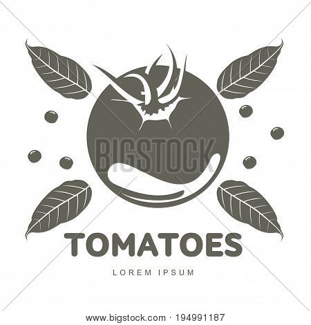 Tomatoes Logo Templates Illustration