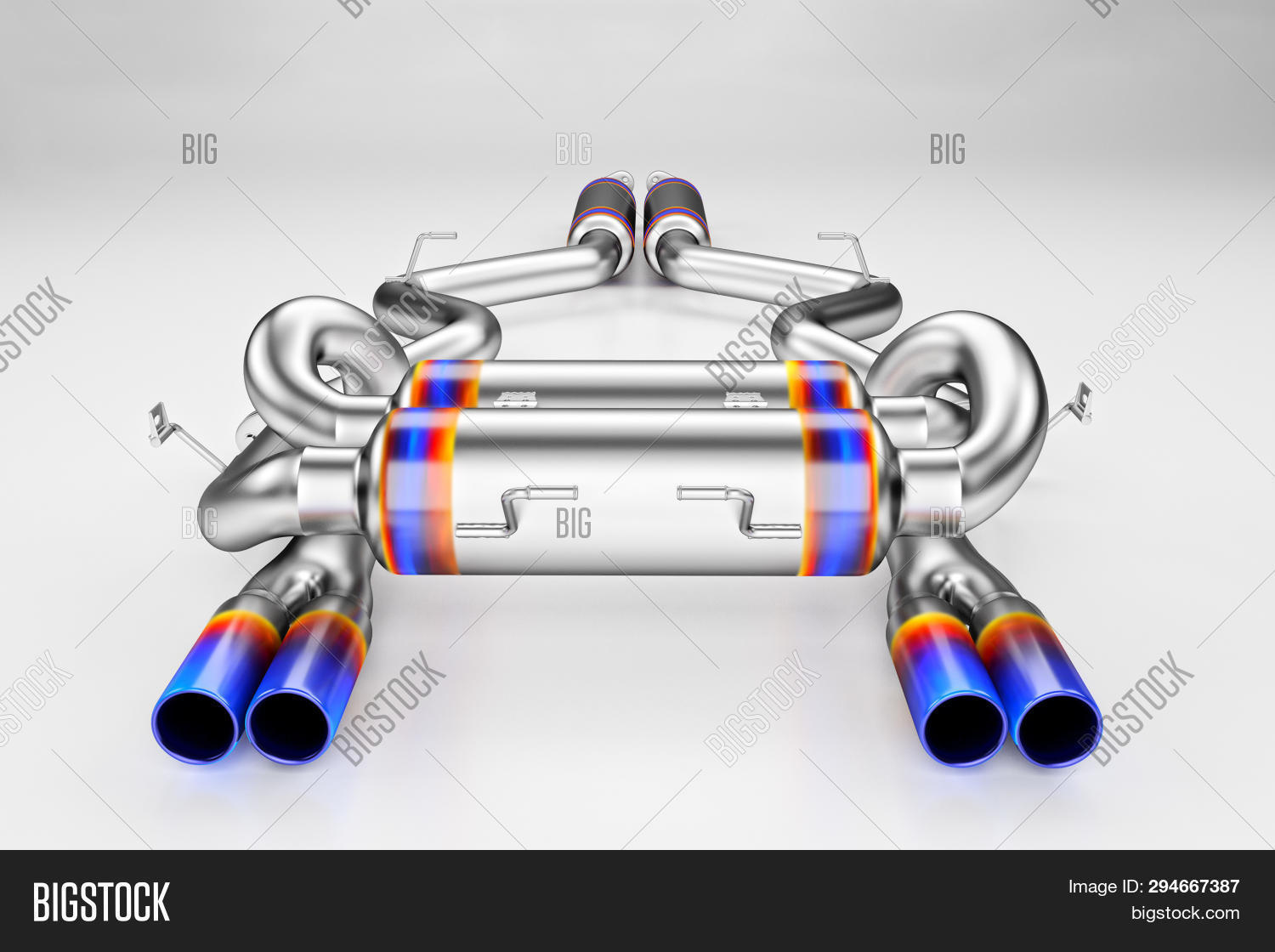 Tuning Exhaust System Image Photo Free Trial Bigstock