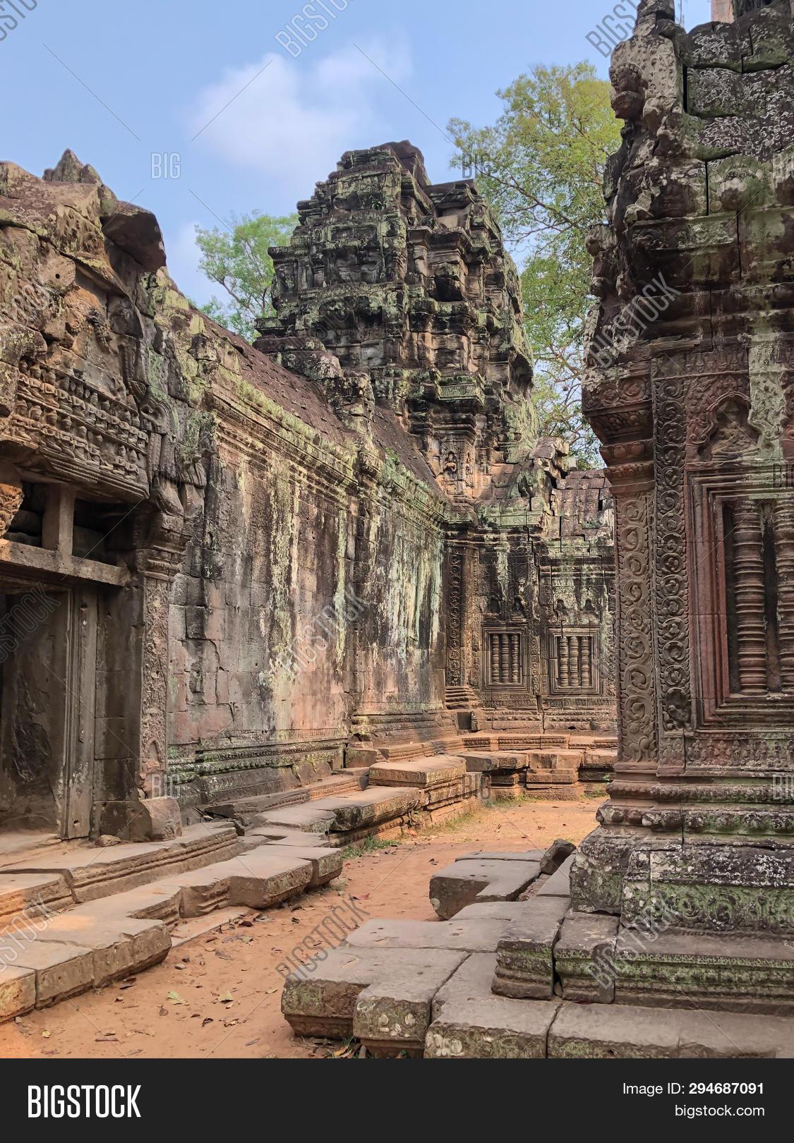 Angkor Cambodia Image & Photo (Free Trial)   Bigstock