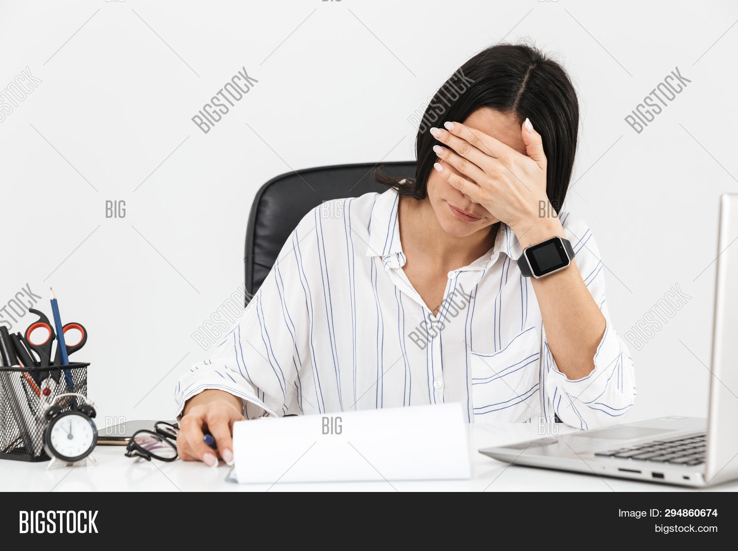 Photo Overworked Image Photo Free Trial Bigstock