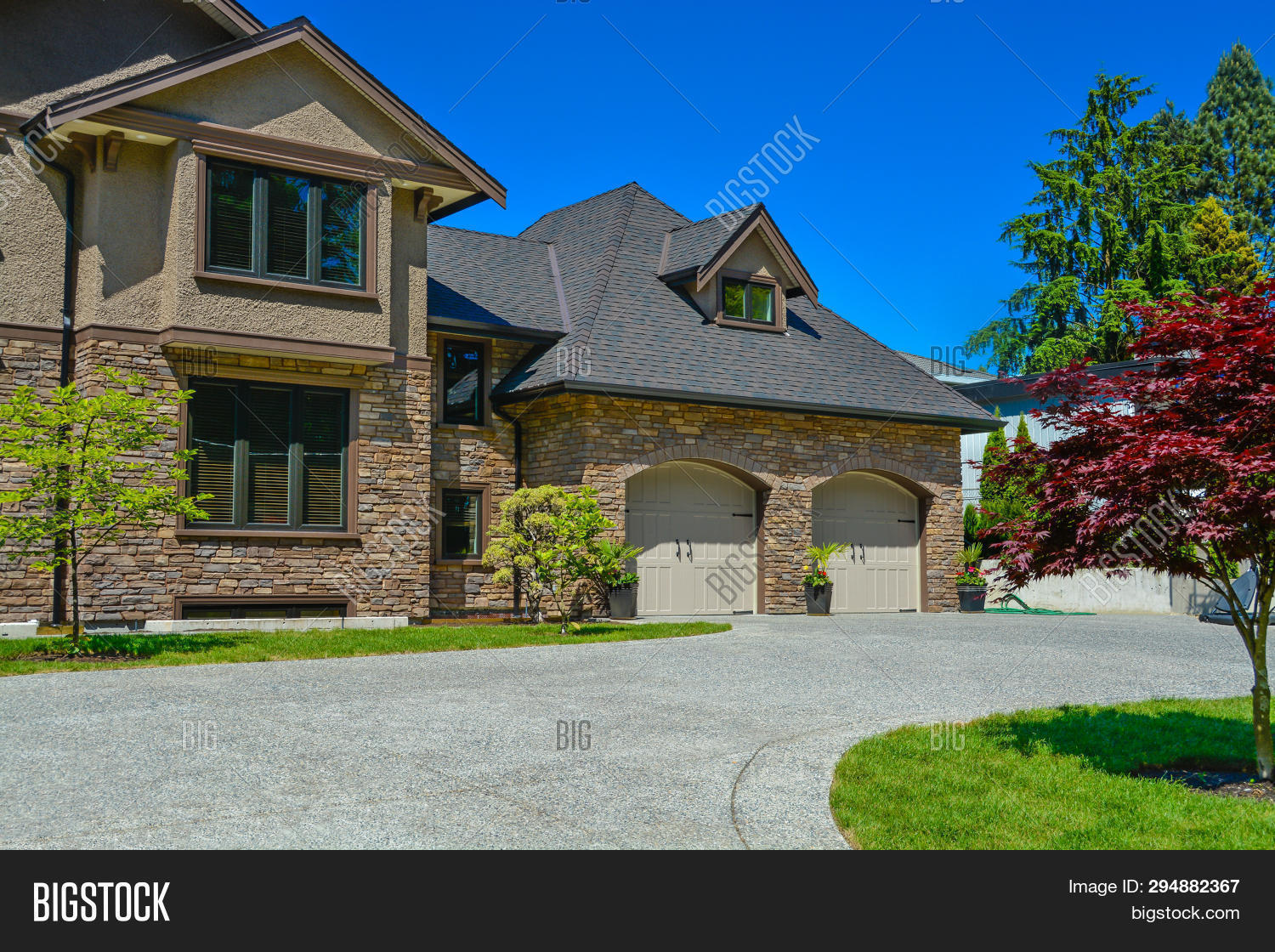 Fragment Luxury House Image Photo Free Trial Bigstock