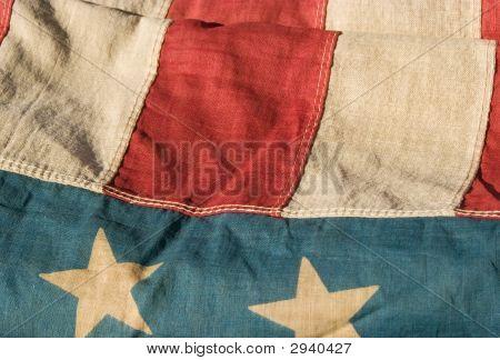 Antique American Flag