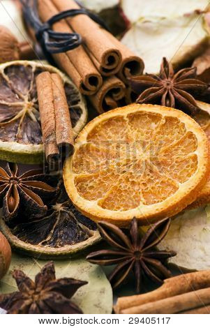 Dried Fruit and Decoration