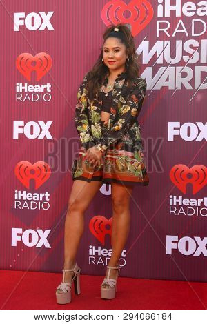 LOS ANGELES - MAR 14:  Angela Yee at the iHeart Radio Music Awards - Arrivals at the Microsoft Theater on March 14, 2019 in Los Angeles, CA