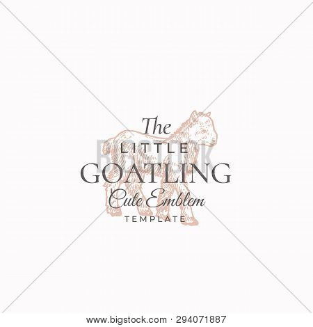 Little Goatling Vector & Photo (Free Trial) | Bigstock