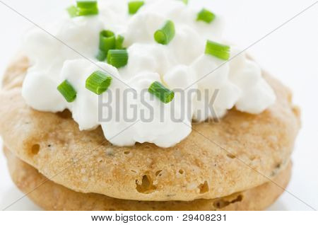 Cottage Cheese on Cracker