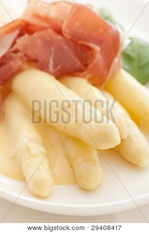 Asparagus with Ham
