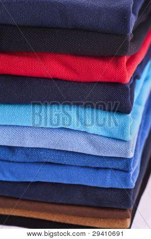 Polo shirts various colors
