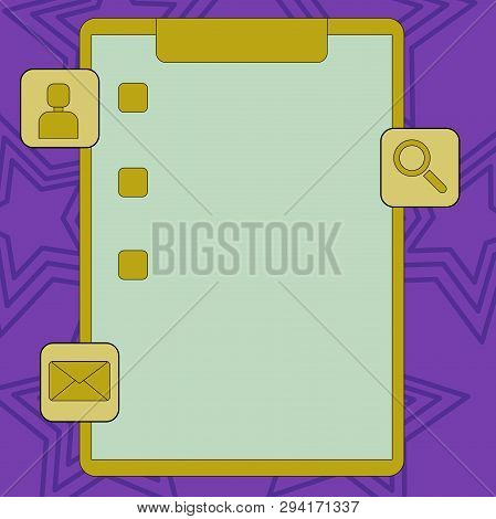 Colorful Clipboard Vector & Photo (Free Trial) | Bigstock