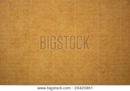 Corrugated Cardboard Sheet Background
