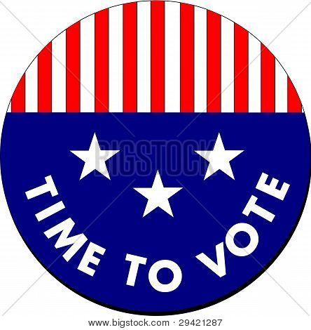Time To Vote Button
