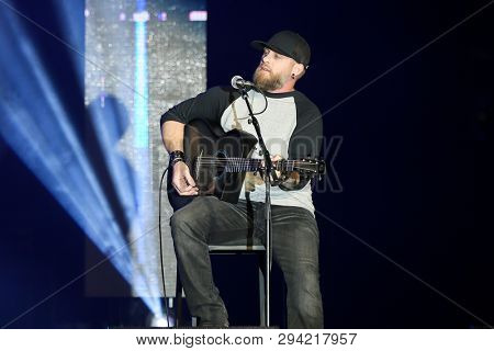 LAS VEGAS - APR 5: Brantley Gilbert attends the ACM Stories, Songs & Stars at the Marquee Ballroom at the MGM Grand Hotel & Casino on April 5, 2019 in Las Vegas, Nevada.