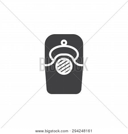 Intercom Vector Icon. Filled Flat Sign For Mobile Concept And Web Design. Video Doorbell Glyph Icon.