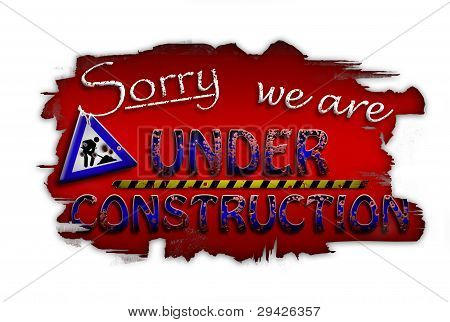 Sorry we are under construction