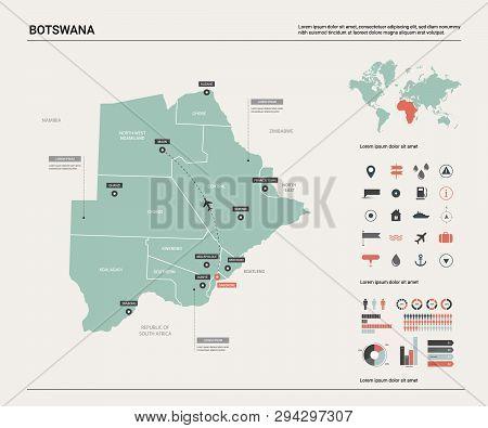 Vector Map Botswana. Vector & Photo (Free Trial)   Bigstock on orapa map, algiers map, sejong city map, phakalane map, lagos map, nairobi map, bujumbura map, juba map, lobamba map, chiredzi map, kanye map, lilongwe map, botswana map, sowa map, johannesburg map, goba map, windhoek map, marondera map, kinshasa map, mogadishu map,