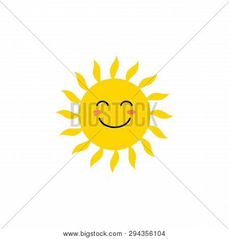 Sun - Vector Icon  Vector & Photo (Free Trial) | Bigstock