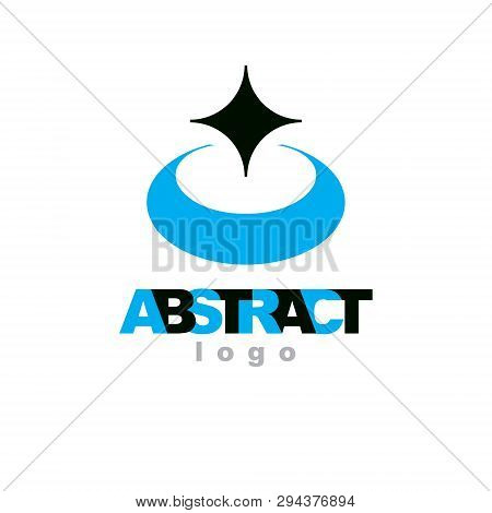 Vector Geometric Conceptual Shape Can Be Used As Business Innovation Idea Creative Icon.