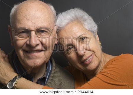 schönes altes Paar