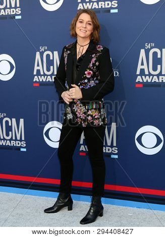 LAS VEGAS - APR 7:  Brandi Carlile at the 54th Academy of Country Music Awards at the MGM Grand Garden Arena on April 7, 2019 in Las Vegas, NV