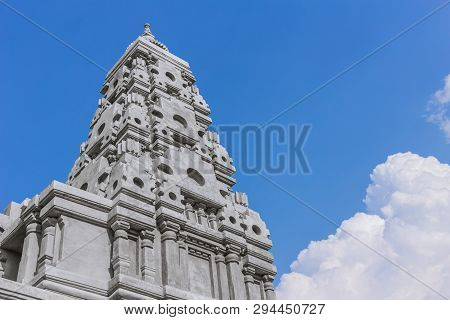 Bodh Gaya Or Mahabodhi Temple  Imitation At Bodhgaya Wat Chongkham In Thailand.