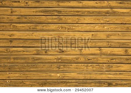 Background picture made of old yellow wood boards