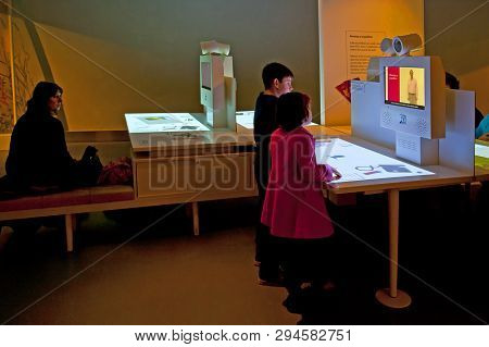 London, England - February 18, 2016: The Natural History Museum In London