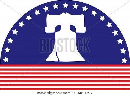 Liberty Bell Flag