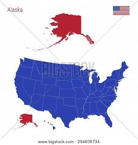 State Alaska Vector & Photo (Free Trial) | Bigstock