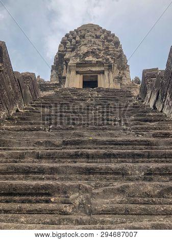 Angkor Cambodia ancient Temple ruins