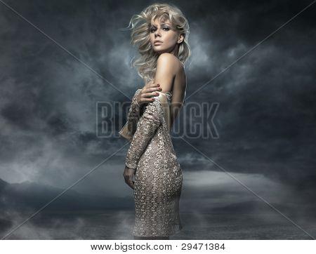 Photo of a beautiful lady