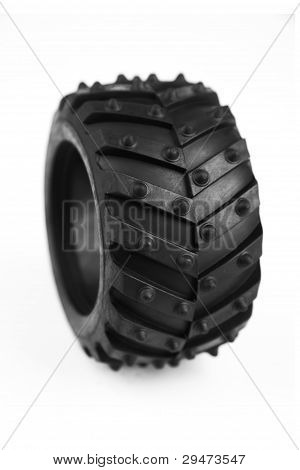 Wheel With A Large Tread